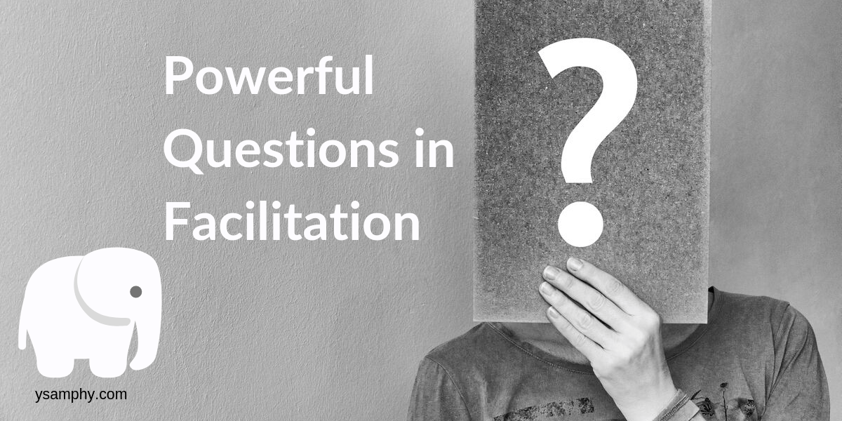 Powerful questions in facilitation